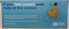 Uxbridge Station (portemolitor) Tags: london hillingdon uxbridge underground station sstock transportforlondon mrmen mrdizzy advert transport for tfl s stock mr men dizzy