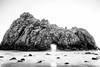 (kayters) Tags: california longexposure winter blackandwhite beach nature contrast canon landscape naturallight pacificocean westcoast pfeifferbeach keyholerock kaytedolmatchphotography kathleendolmatch