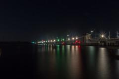 New Bern NC Bridge (CollectingImages2015) Tags: longexposure bridge nc elements nightlight nightlife newbern