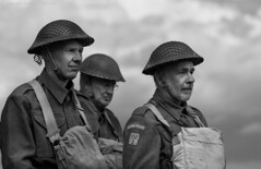 Home Guard (kimbenson45) Tags: bicesterheritage flywheelfestival homeguard ww2 wwii worldwarii costume helmets historical history khaki livinghistory reenactors secondworldwar soldiers uniforms