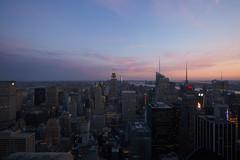 Top of Rock (PamBolingPhoto) Tags: architecture city newyorkcity nyc rockefellercenter sunset topoftherock