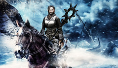 The Witcher (Migan Forder) Tags: horse knigth elf snow winter fantasy medieval theforgestore