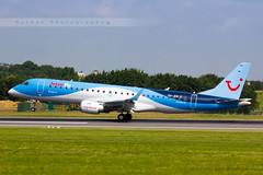 BRU - Embraer 190STD (OO-JEM) JetairFly (Aro'Passion) Tags: brussels canon photography airport photos explorer airplanes touch bruxelles landing reverse airlines named bru zaventem embraer atterrissage ebbr repousse natw 60d jetairfly aropassion 190std oojem