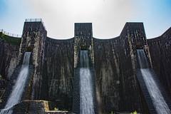 Honen-Ike Dam (Hiro_A) Tags: water japan architecture nikon dam sigma landmark shikoku historical kagawa 1770 kanonji 1770mm d7200