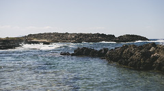 Punta faraglioni (Little wanderer) Tags: d610 50f14 sea summer favignana waves rocks