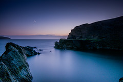 Blue Lagoon (^hanky1984^) Tags: landscape long exposure bluehour nd1000 nikonpictures visitwales 10stopndfilter d5200 nikond5200