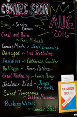 Coming Soon August 2016 (Lester Public Library) Tags: lesterpubliclibrary lpl librariesandlibrarians library libraries libslibs lesterpubliclibrarytworiverswisconsin 365libs publiclibrary publiclibraries tworiverswisconsin wisconsinlibraries readdiscoverconnectenrich summerreading book books