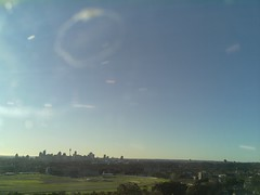 Sydney 2016 Jul 25 16:03 (ccrc_weather) Tags: ccrcweather weatherstation aws unsw kensington sydney australia automatic outdoor sky 2016 jul evening