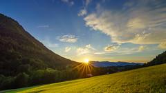 summersunset (Urs Walesch) Tags: summer sunset alps mountains sun sunshine clouds sky allgu great pic
