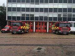 Hertfordshire Fire & Rescue Appliances (slinkierbus268) Tags: hertfordshire hertfordshirefireandrescue fireandrescue fireappliance fireengine brand new watford hertford scania pump