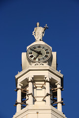 Courthouse Clock (jschumacher) Tags: virginia petersburg petersburgvirginia courthouse