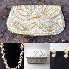 Beads and baubles. 👛✨#vintagejewelry #beadedclutch #eveningwear #eveningbags #clutchbags #weddingclutch #whiteclutch #japanesefashion #costumejewelry #pearls #baubles #jewelrybox #jewelryholder #beadedpurse #vintageshop #classicstyle #forma (janet_colwell) Tags: instagramapp square squareformat iphoneography uploaded:by=instagram vintage jewelry vintagehandbags vintagepurses retrofashion