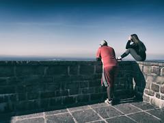 In the Distance | 2016 (Roland C. Vogt) Tags: olympus omd em5 markii | 12mm f20 badenbaden altes schloss hohen baden burg castle