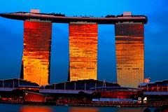 Reflections (Rajavelu1) Tags: architecture beautiful colours water rever reflection art aroundtheworld artland creative canon6d canonef70200f4llens marinabaysands singapore simplysuperb