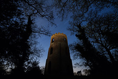 Conygar Tower, Dunster (long exposure at night) (RattyBoots) Tags: longexposure tower night canon somerset astro 7d folley dunster startrail canon1022 conygartower