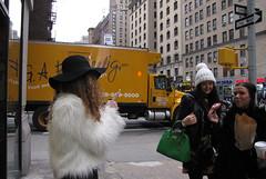 New York City Donut Muncher 2015 (wheeltoyz) Tags: street new york city nyc girls ny newyork bus apple subway square big women manhattan cab taxi broadway donut times avenue 5th