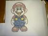 Mario (elartistadelamaquinadeescribir) Tags: mario dibujo diseño dibujar maquinadeescribir manualidad puntodecruz