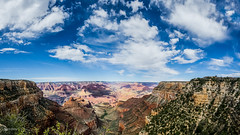 Grand Canyon South Rim (-David O'Connell-) Tags: park arizona sky nature clouds canon landscape rocks desert grandcanyon grand canyon national 6d 1635ii