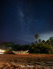 A night at beach (MedianVisuals) Tags: nightphotography sky beach night stars astro sri lanka astrophotography nightsky milkyway
