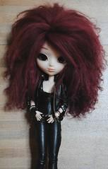 Last pix of Amyclia before full custo :D (Brindfoliee) Tags: wig mohair pullip obitsu fullcusto azazelle brindfoliee amyclia