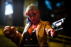 SP_46500 (Patcave) Tags: costumes anime film canon comics movie eos book photo dc costume orlando comic photoshoot cosplay f14 culture 85mm sigma pop hallway fantasy convention comicbook scifi snapshots megacon marvel hellboy ef 1740mm f4 2015 patcave 5d3 megacon2015