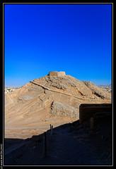 Tours de silence (Yadz, Iran) (L'Abominable Homme de Rires) Tags: iran mort rite yadz funeraire dakhmeh allibert zoroastriens tourdesilence