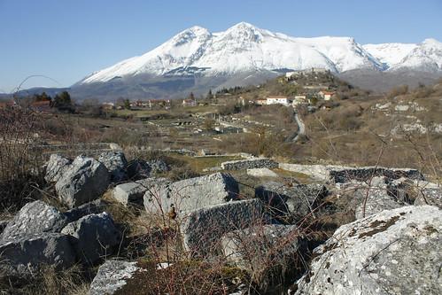 Alba Fucens - La Zona Archeologica