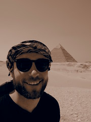 Just realized Im at The pyramides!