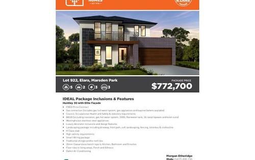 Lot 922 Elara, Marsden Park NSW