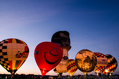JKY_8837 (listentilithz) Tags: balloonfest middletown 2016 balloonglow hotairballoon airheadssmileyface jeep fireworks nikon d7000 1755 skydiver
