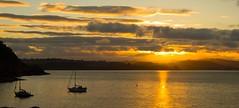 Battery Sunset. Explored 16/07/16 (jamesashtonpix) Tags: explored evening summer brixham canon reflection ocean devon sunset