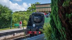 Harmans Cross Station 04 (Matt_Rayner) Tags: swanage railway 34070 manston sr battle of britain class steam train