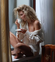At The Window_5 (Angelika UA) Tags: angelika model photosession portrait girl woman lady ukrainian face beauty beautiful charming naturalbeauty tenderness legs feet barefeet barefoot sexy