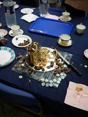 Mad Hatter's Tea-Party - 8 (the justified sinner) Tags: hat cake birmingham panasonic 17 20mm teacup madhatter saucer teaparty cityuniversity gx7 schoolofjewellery justifiedsinner samchilton
