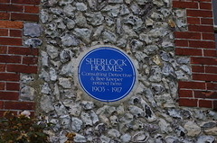 IMGP3622 (Steve Guess) Tags: uk blue england plaque sussex village dean east eastbourne gb holmes sherlock