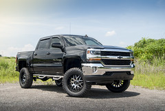 Chevy 1500 Black Pro Runner 003 (brockmullen24) Tags: chevrolet metal truck mickey racing tires chevy american moto series silverado 1500 thompson xd bushwacker lifted nfab