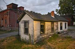 Old Weigh Station (dr_marvel) Tags: weighstation weigh ny pittsford newyork erie eriecanal barn red