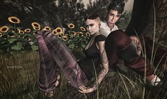 Sunflower (AA Style ♥ Hipster Style ♥ AR2 Style ♥ HME ) Tags: ar2style avaway bade catwa excellence menonlymonthly mom noproject realevil rkposes swallow thecrossroadsevent themeshbodyaddicts unorthodox vinyl secondlife