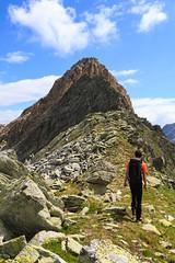 In Cammino (Roveclimb) Tags: mountain alps suisse hiking mountaineering alpinismo svizzera alpi montagna klettern alpinism splugen spluga escursionismo suretta graubunden grigioni seehorn rothornli surettaluckli