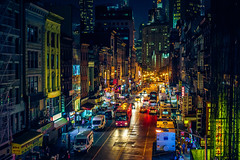 Chinatown (Arutemu) Tags: night nighttime nightscape nikon nyc ny nightshot newyork newyorkcity nuevayork nightview nightfall manhattan chinatown view ville asian america american a7r usa urban us unitedstates city cityscape ciudad citylights sonya7r ilcea7r manhattanbridge                         manualfocus