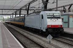 NS Traxx 186 148 + 16506 te Rotterdam CS (erwin66101) Tags: ns bombardier traxx locomotief icrm rijtuigen stam intercity direct amsterdam centraal station rotterdam nsinternational nsinternationaal nshispeed icrmrijtuigen icrmstam icrmrijtuig icr icrrijtuigen intercitydirect icdirect ic amsterdamcentraal amsterdamcs rotterdamcentraal rotterdamcs