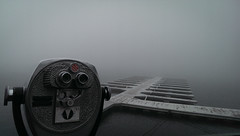 Turn to Clear Vision (Neilwill) Tags: bigbear lake binoculars view mist dock arrowhead lakearrowhead fog