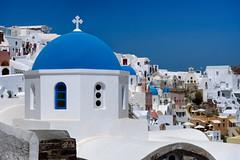Oia church, Santorini (Mustang Joe) Tags: cruise free nikon publicdomain costa mediterranean eastern d750 2016 ia egeo greece gr