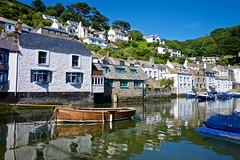 DSCF9084 (douglaswestcott) Tags: summer england english coast seaside cornwall village harbour coastal quaint polperro