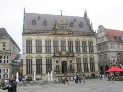 Merchants' Guild, (Schtting) (cohodas208c) Tags: architecture bremen renaissance townsquare rebuilt hanseatic lategothic schtting merchantsguild destroyedinworldwarii
