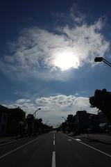 Sun Over Station 3 (sjrankin) Tags: 23july2016 edited kuriyama hokkaido japan hdr stationroad