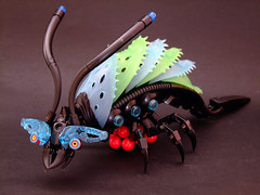Abyssal Crayworm (Djokson) Tags: sea monster bug insect lego alien deep crawfish shrimp lobster glowing arthropod moc bioluminescent deepsea abyssal djokson bugmom