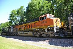 BNSF 8385 GE ES44C4 (37T) (Trucks, Buses, & Trains by granitefan713) Tags: train freighttrain locomotive ge generalelectric gees44c4 es44c4 gevo evolutionseries bnsf burlingtonnorthernsantafe trailingunit railline railroad sunburline nssunburyline