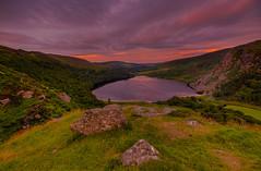 Guinness Lake (darek_gruszka) Tags: ireland wicklow mountains lake guinness lough tay sunrise clouds