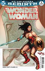 DC Universe Rebirth Wonder Woman 2 (Frank Cho cover) (FranMoff) Tags: sword wonderwoman shield rebirth frankcho cho dcuniverserebirth